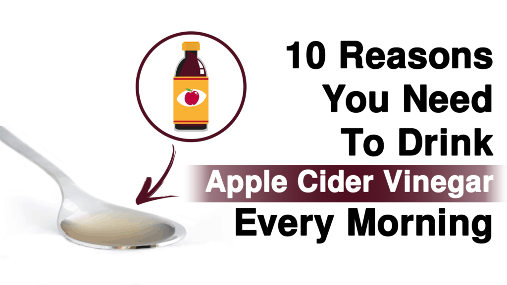 Why You Need To Drink Apple Cider Vinegar Every Morning, According to Science
