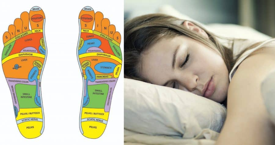 Try This Two Minute Foot Massage Which Claims To Guarantee A Good Night's Sleep