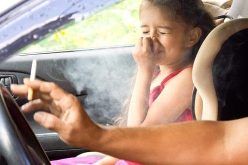It Could Soon Be Illegal To Smoke In A Car With Children Inside