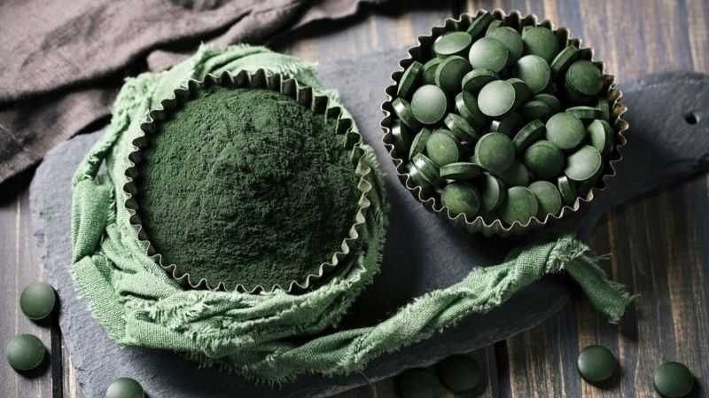 Spirulina powder and spirulina pills promote longevity