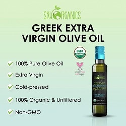 Greek Organic Extra Virgin Olive Oil