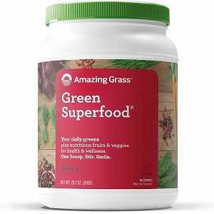 Best Green Juice Organic Powdwer from Amazing Grass.