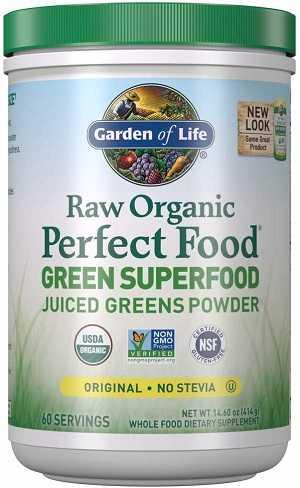 Garden of life Raw Organic Green Powder