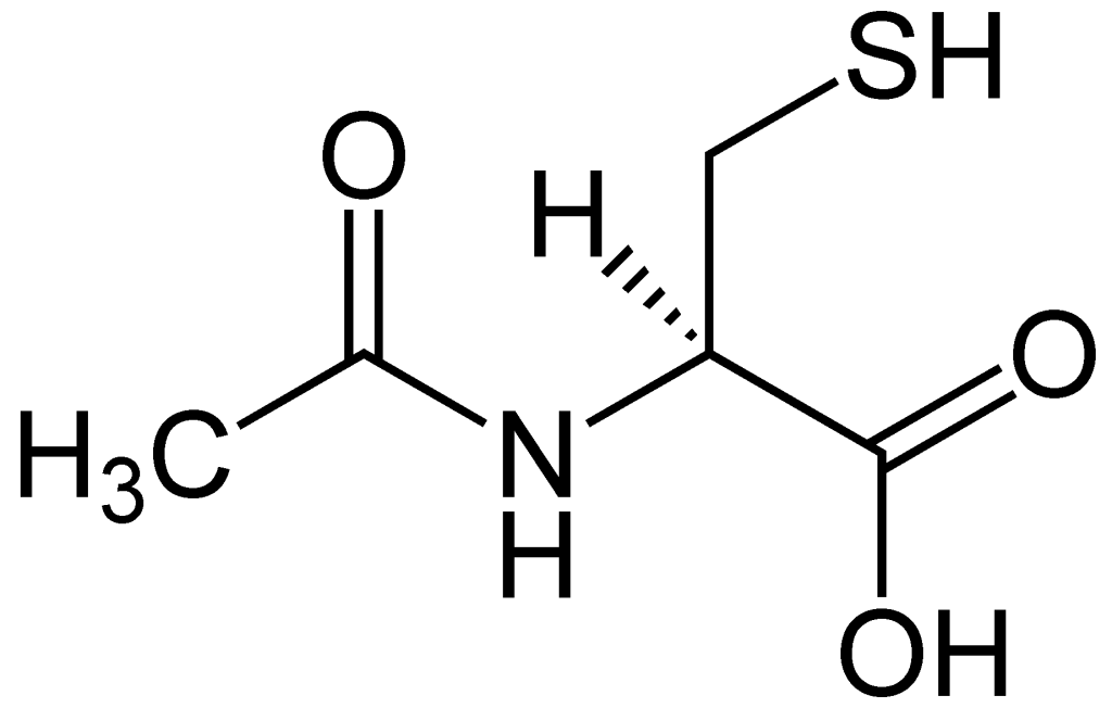 N-Acetylcysteine Chemical Structure