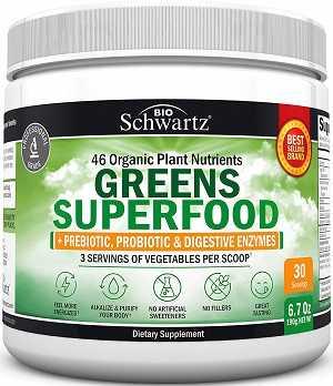 Bio Schwartz Greens Superfood