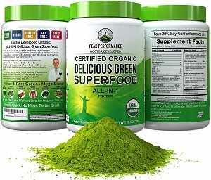 Best Green Juice Supplement by Peak Performance