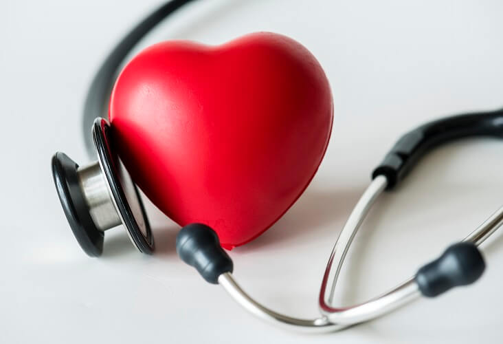 heart with a stythoscope