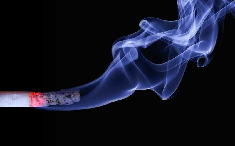 cigarette lighten up