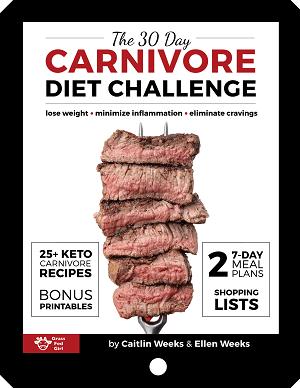 carnivore diet book cover