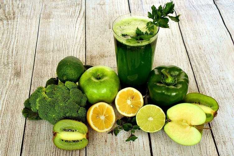 Green smoothie - Importance of Fruits and Vegetables in Human Diet