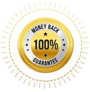 image of a 90 day guarantee badge