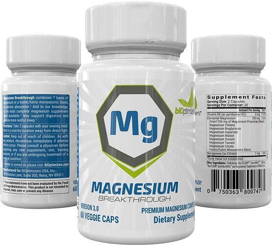 Magnesium Breakthrough Review - Bottles