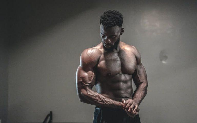a vegan bodybuilder