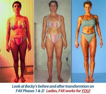 Becky Holman's transformation