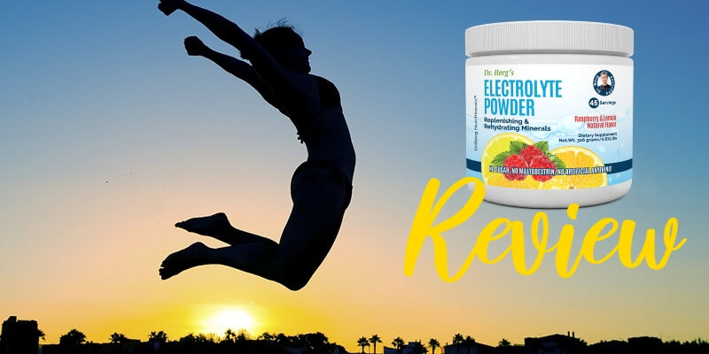 dr berg electrolytes review