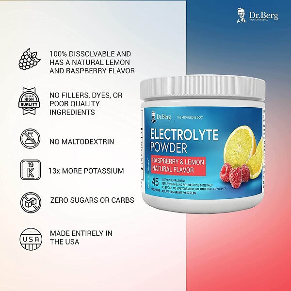 dr berg's original electrolyte powder 1