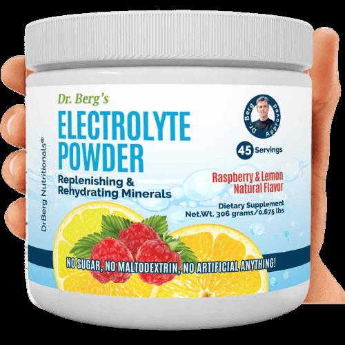 dr berg electrolyte powder review